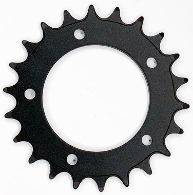 Chainwheel 22T thick-thin