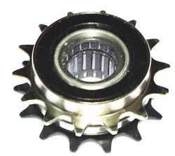 Double 14T freewheel